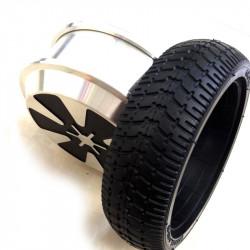 "Rueda 8"" + Motor Patinete electrico 2 ruedas"