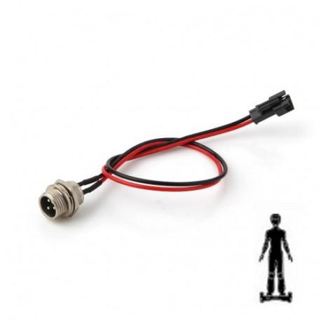 Conectores y cable para carga de patinete hoverboard